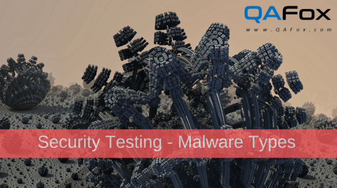 Security Testing – Different types of Malware