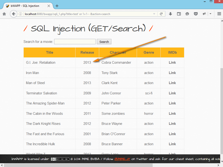 SQL Injection – Payload Two – Part 4 - QAFox