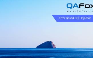 Error Based SQL Injection – Part 5