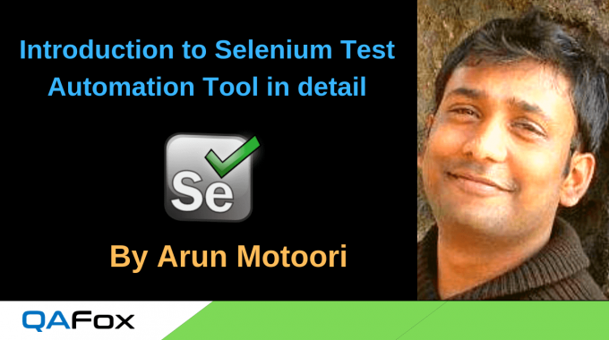 Introduction to Selenium Test Automation Tool in detail