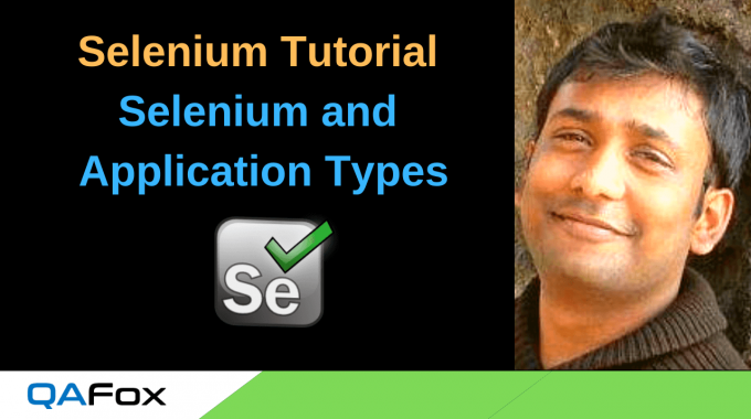 What types of Applications that Selenium can and cannot Automate?