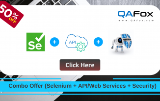 Combo Offer – Selenium + API/Web Services  + Security Testing