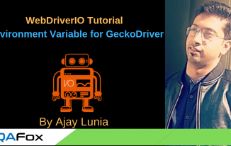 WebDriverIO – Setup Environment Variable for Gecko driver.