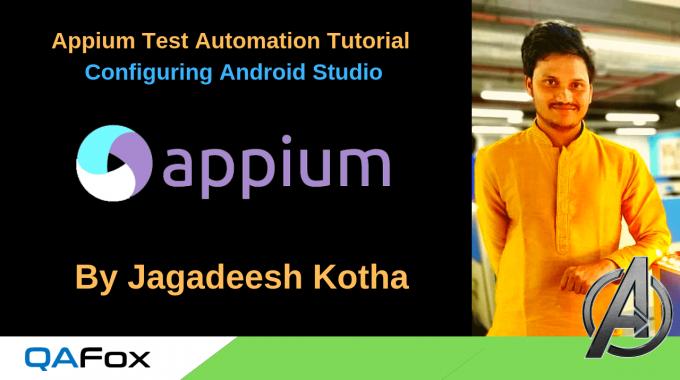 Appium – Configuring Android Studio