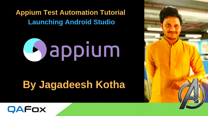 Appium – Launching Android Studio