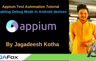 Appium – Enabling debugging mode in Android devices or emulators