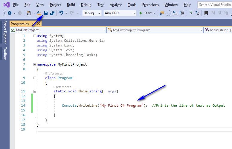 C# for Selenium - Console WriteLine