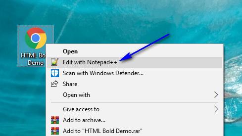 HTML for Selenium - Open NotePad
