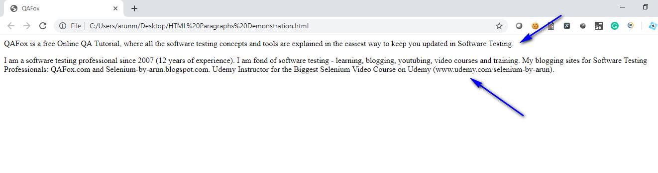 HTML for Selenium - Part 12 - Displayed