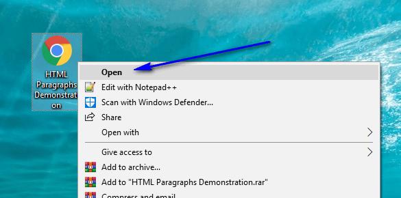 HTML for Selenium - Part 12 - Open