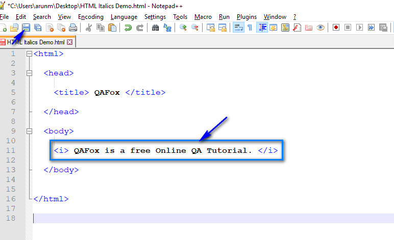 HTML for Selenium - Part 13 - Code