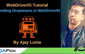 WebDriverIO-Handling Dropdowns