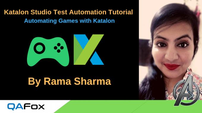 Automating Games using Katalon Studio