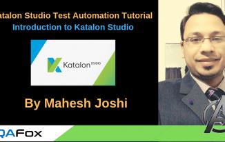 Katalon Studio Test Automation Tool (Introduction)