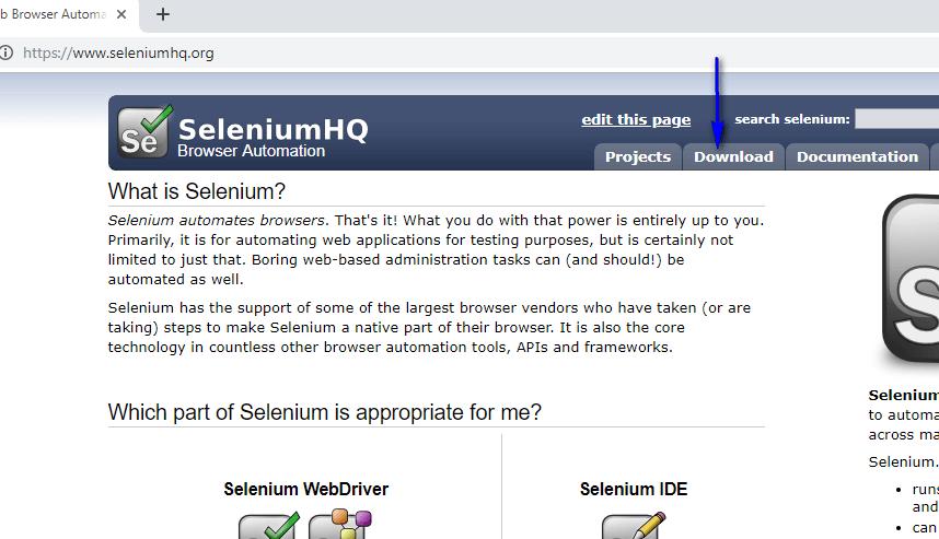 Selenium C# - SeleniumHQ Website