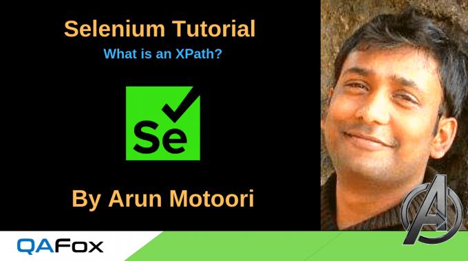 Selenium Locators – What is an XPath?