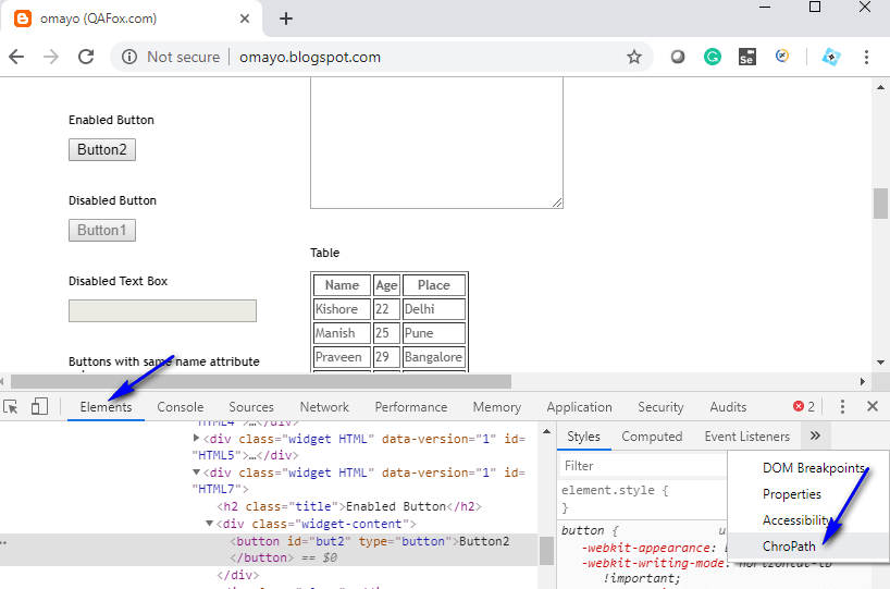 Absolute XPath Expressions - ChroPath