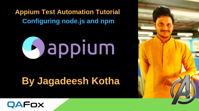 Appium – Configuring node.js and npm