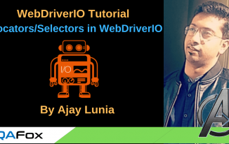 WebDriverIO – Locators/Selectors