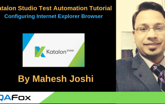 Katalon Studio – Configuring Internet Explorer Browser