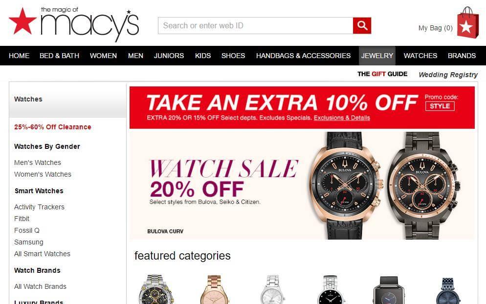 Macys Web