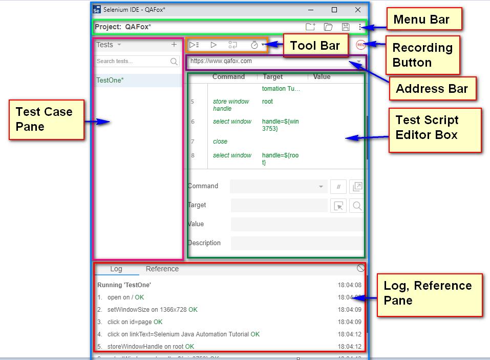 New Selenium IDE Features