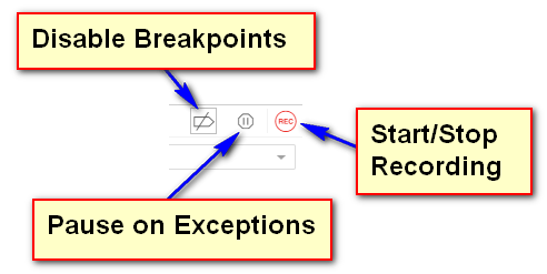 Recording Breakpoints and Pausing
