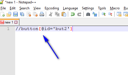 Relative XPath Expressions - Pasted Path