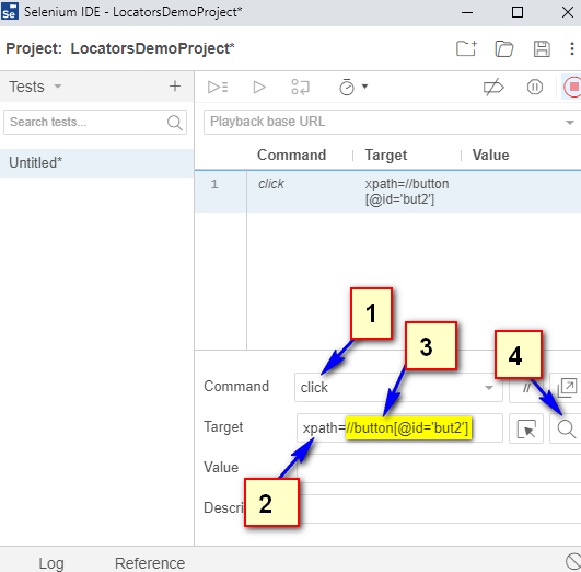 Relative XPath Expressions - first located
