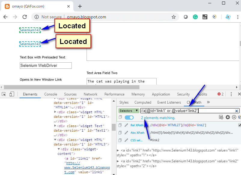 Relative XPath - Optimized OR operator