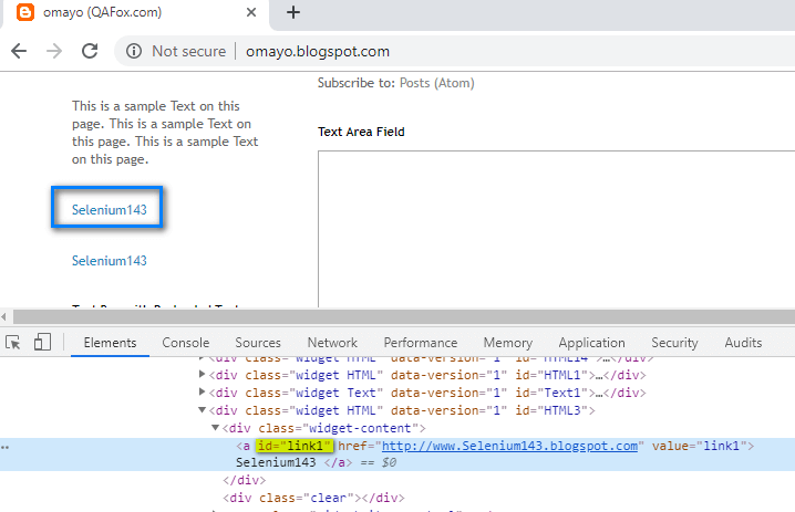Relative XPath - first hyperlink inspect