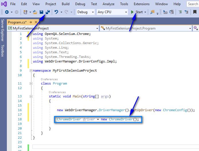 Selenium C# - Chrome