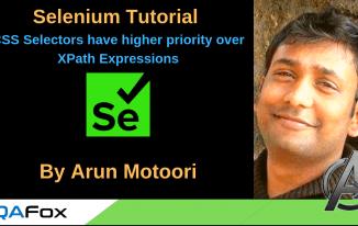 Selenium Locators – CSS Selectors have higher priority over XPath Expressions