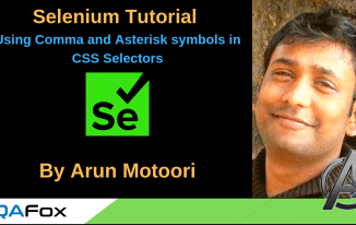 Selenium Locators – Using comma and asterisk symbols in CSS Selectors