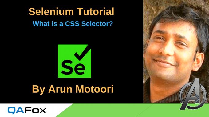 Selenium Locators – What is a CSS Selector?