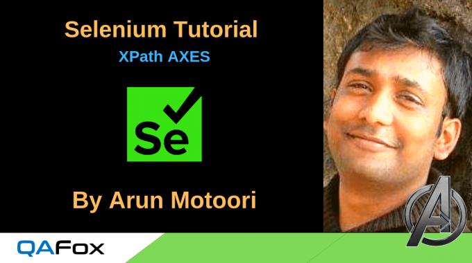 Selenium Locators – XPath AXES