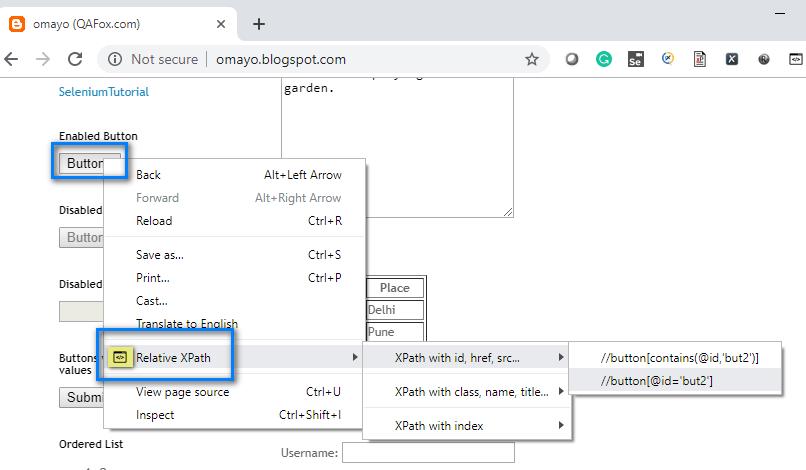 TruePath Chrome - Right click options
