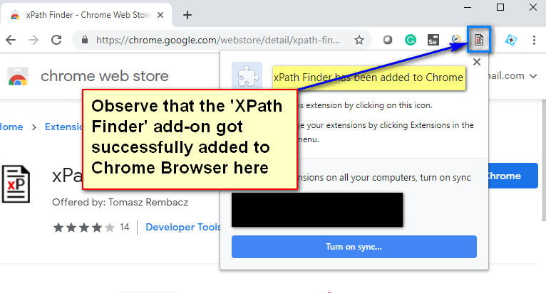 XPath Finder - Added