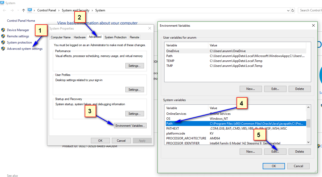 Configuring SIDE Runner - click or select