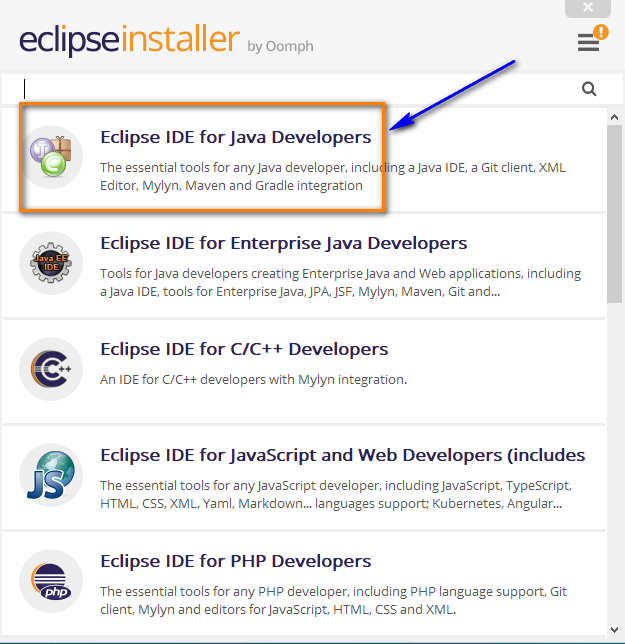 Installing and Launching Eclipse IDE - Java Developers