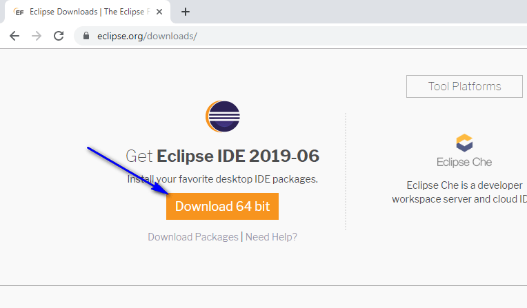 Installing and Launching Eclipse IDE - download
