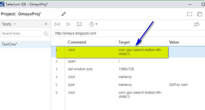 New Selenium IDE - cut pasted option