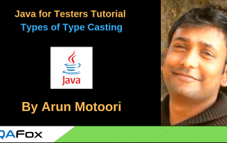 Java for Testers – Types of Type Casting