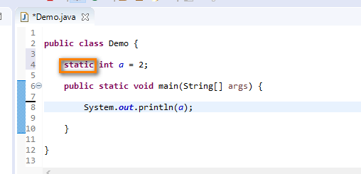 Java for Testers - static added