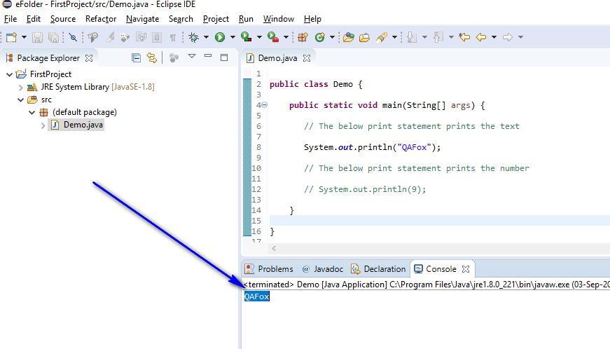 Print Shortcut Eclipse IDE - only text printed