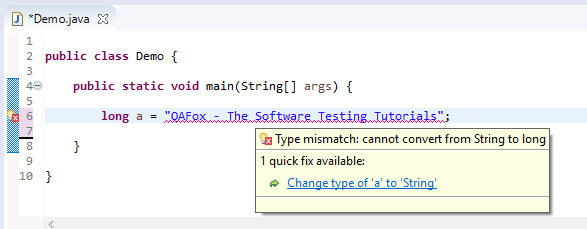 long assigned different - String to long error
