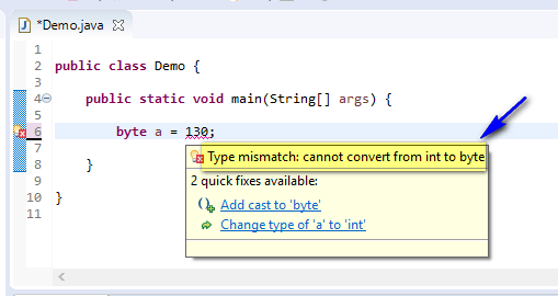 out of range - byte cannot convert