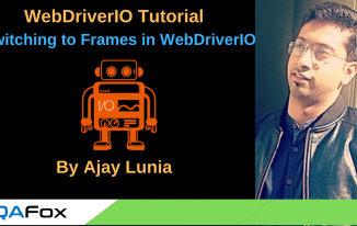 Switching To Frames in WebDriverIO