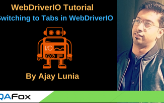 WebDriverIO – Switching To Tabs in WebDriverIO