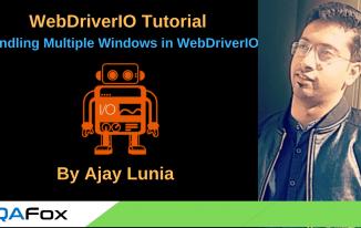 WebDriverIO – Handling Multiple Windows in WebDriverIO